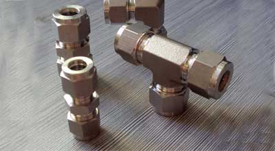 Duplex Steel S31803 Compression Tube Fittings