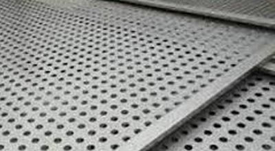 Duplex Steel S31803 Perforated and Chequered Sheet