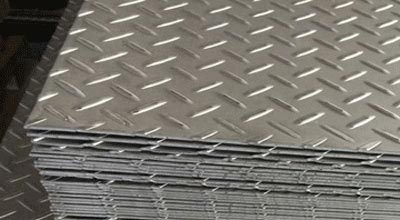 Duplex Steel S32205 Perforated and Chequered Sheet