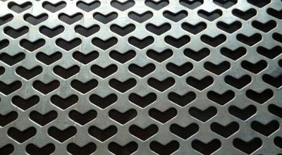 Stainless Steel 316Ti Perforated Sheet