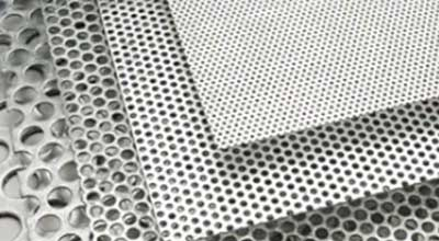Titanium Gr.2 Perforated Sheet