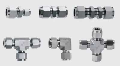 Titanium Gr.5 Compression Tube Fittings